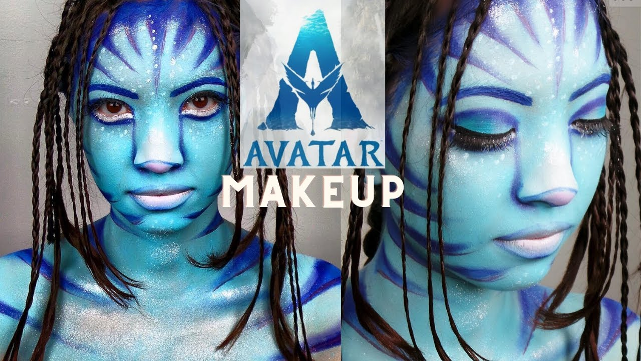 Avatar Makeup By Andrew Velazquez Youtube