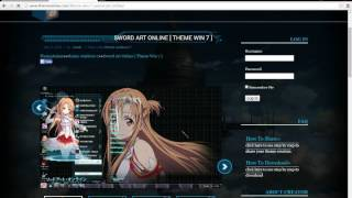 Tutorial:Anime Theme Windows 7