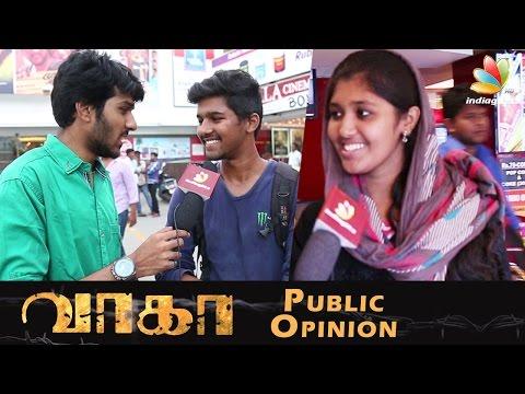 Vikram Prabhu's Wagah Audience Response | Public Movie Review
