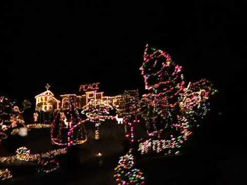 Christmas Lights in Eugene, Oregon - YouTube