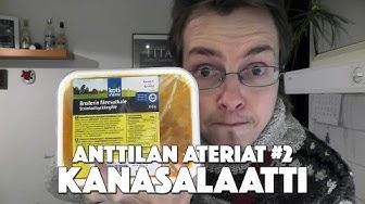 Kanasalaatti | Anttilan ateriat #2
