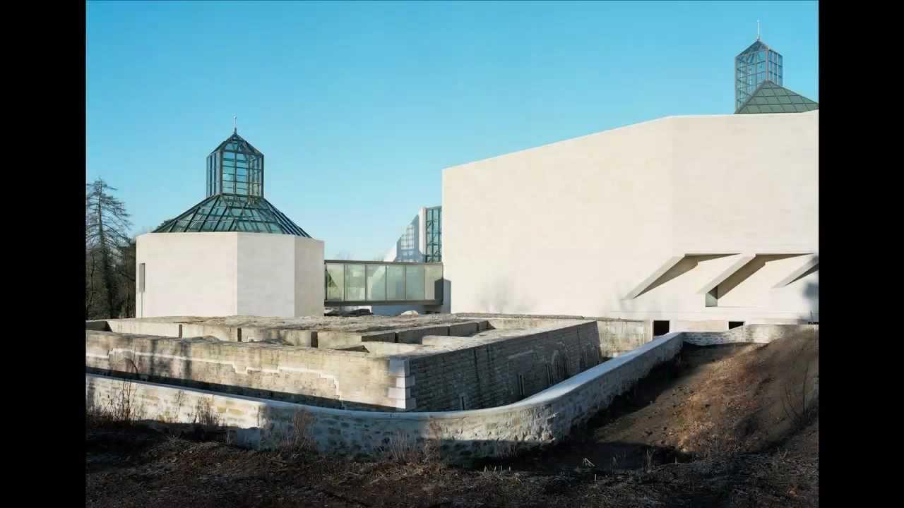 Mudam luxembourg i m pei architect design vues de l for Ministere de l exterieur
