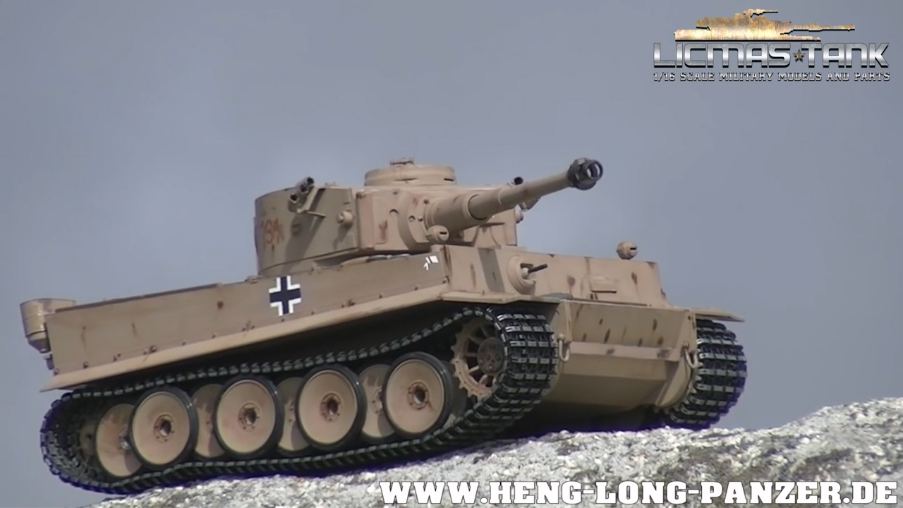 tiger 1 rc tank mato kundenvideo heng long panzer by. Black Bedroom Furniture Sets. Home Design Ideas