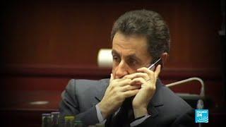 L'ex-président français Nicolas Sarkozy condamné à 3 ans de prison dont un ferme pour corruption
