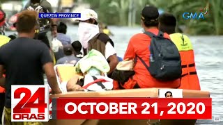 24 Oras Express: October 21, 2020 [HD]
