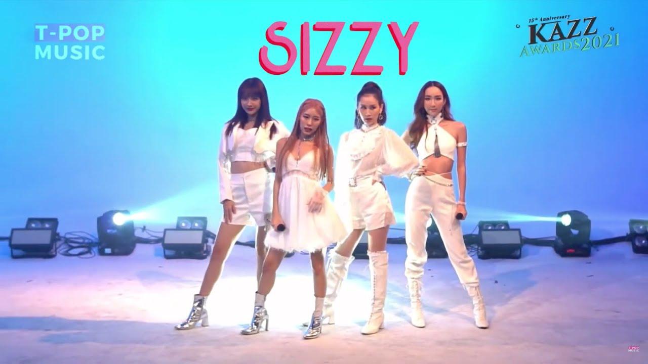 Download SIZZY - ห้ามใจ Remix Version LIVE Stage | 211022 KAZZ AWARDS 2021 | T-POP MUSIC