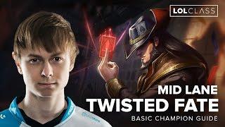 Twisted Fate Mid Lane Guide by C9 Jensen - Season 6 | League of Legends