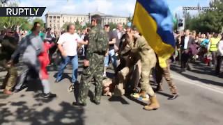 Радикалы попытались сорвать акции «Бессмертный полк» сразу в нескольких украинских городах