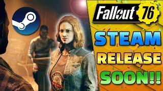 FO76 Steam Release Soon + New Wastelanders Info! - Fallout 76 News Update