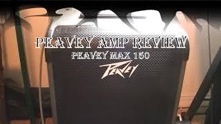 Peavey Max 150 Amp Review