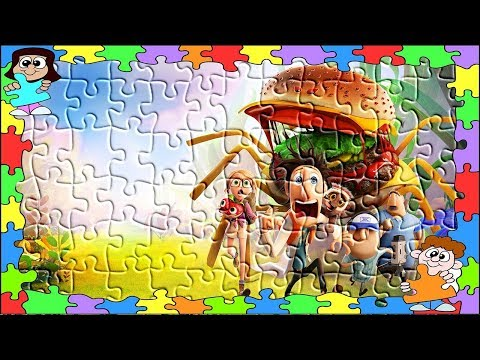 Cloudy with a Chance of Meatballs New Style Puzzle Games For Kids