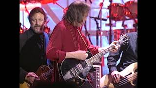 "Neil Young and Eddie Vedder perform ""Fuckin' Up"" at the 1995 Hall of Fame Induction Ceremony"