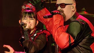 BABYMETAL and the Fox God join forces with the Metal God himself Ro...