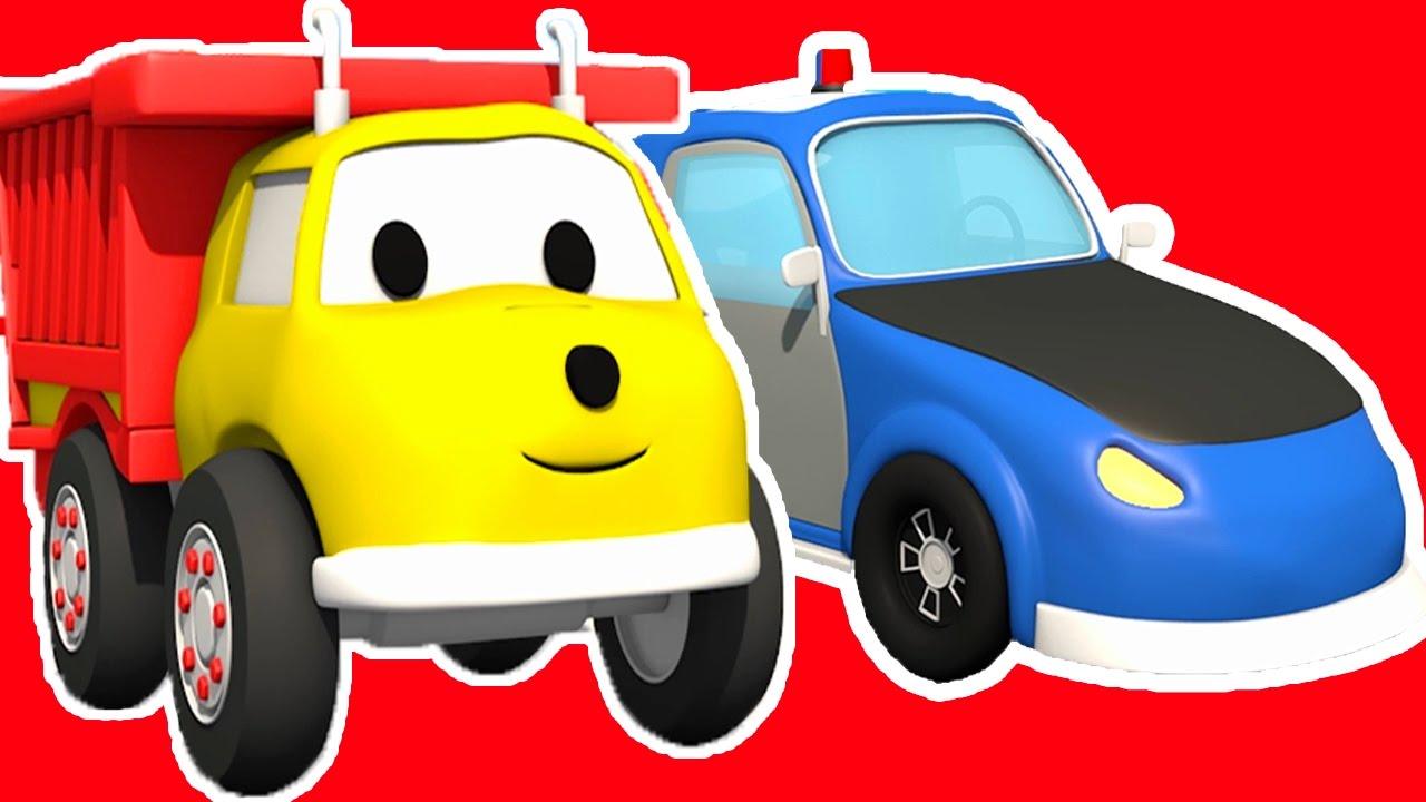 Favori La voiture de Police : Apprendre les couleurs avec Ethan le Camion  KQ12
