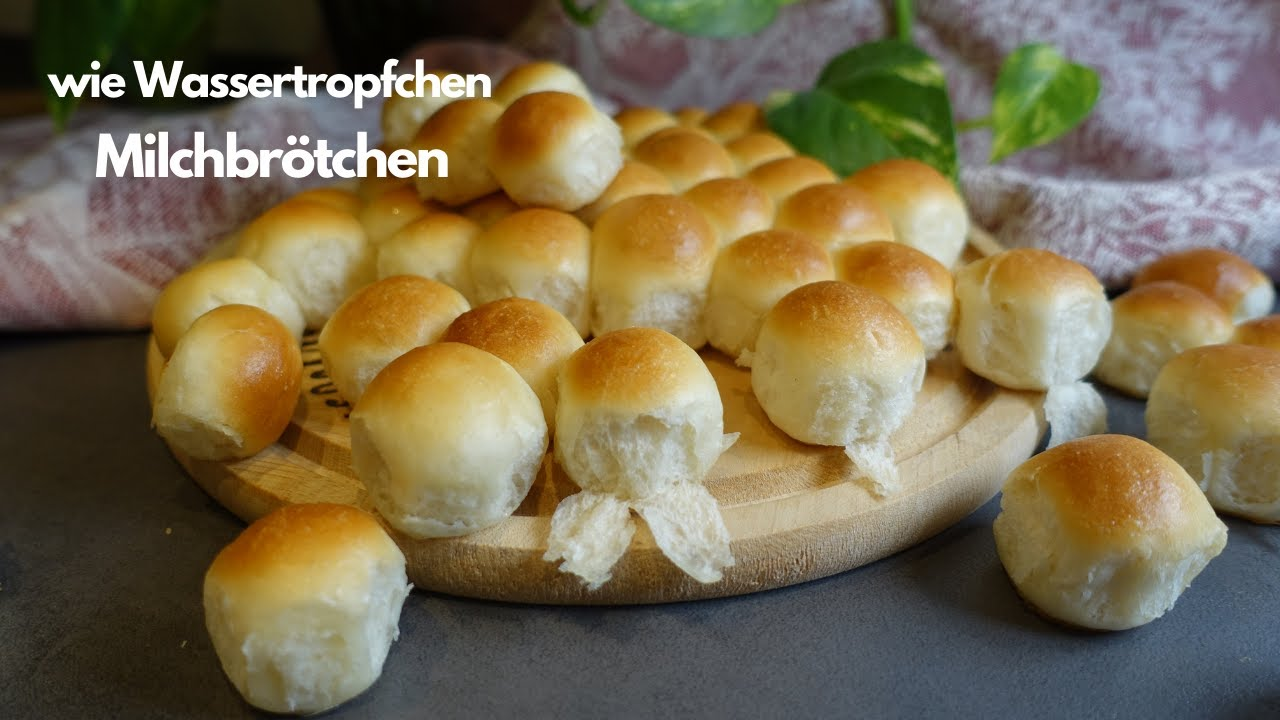 물방울빵/ 챌린지베이킹/ 같은빵 세번의 결과/ Tropfen Milchbrötchen