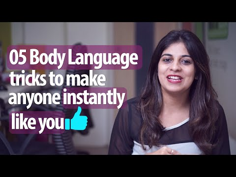 5 Body Language Tricks To Make Anyone Instantly Like You  Personality Development & English Lessons
