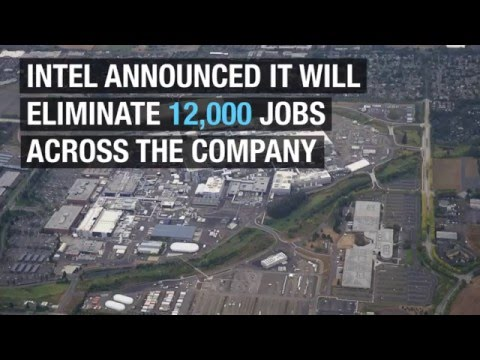 Intel, cutting 12,000 jobs, tries to bend the company without