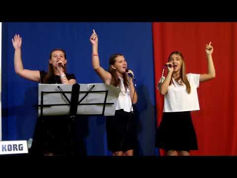 """""""Наш Бог всемогутній"""". """"Веселка покаже нам"""" . Молодіжний гурт Церкви """"Гефсиманія"""""""