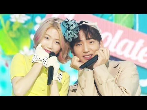 《Comeback Special》 Seo Ye Ahn(서예안(feat.바로)) - Chocolate Kiss @인기가요 Inkigayo 20160522