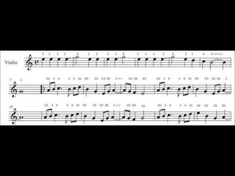 Sad Romance by Thao Nguyen Xanh violin sheet music