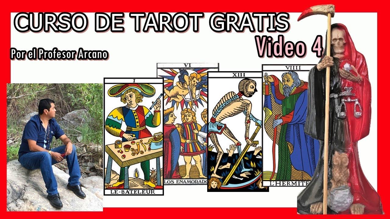 ☯ Curso Tarot con el profesor Arcano video 4 🧿💎