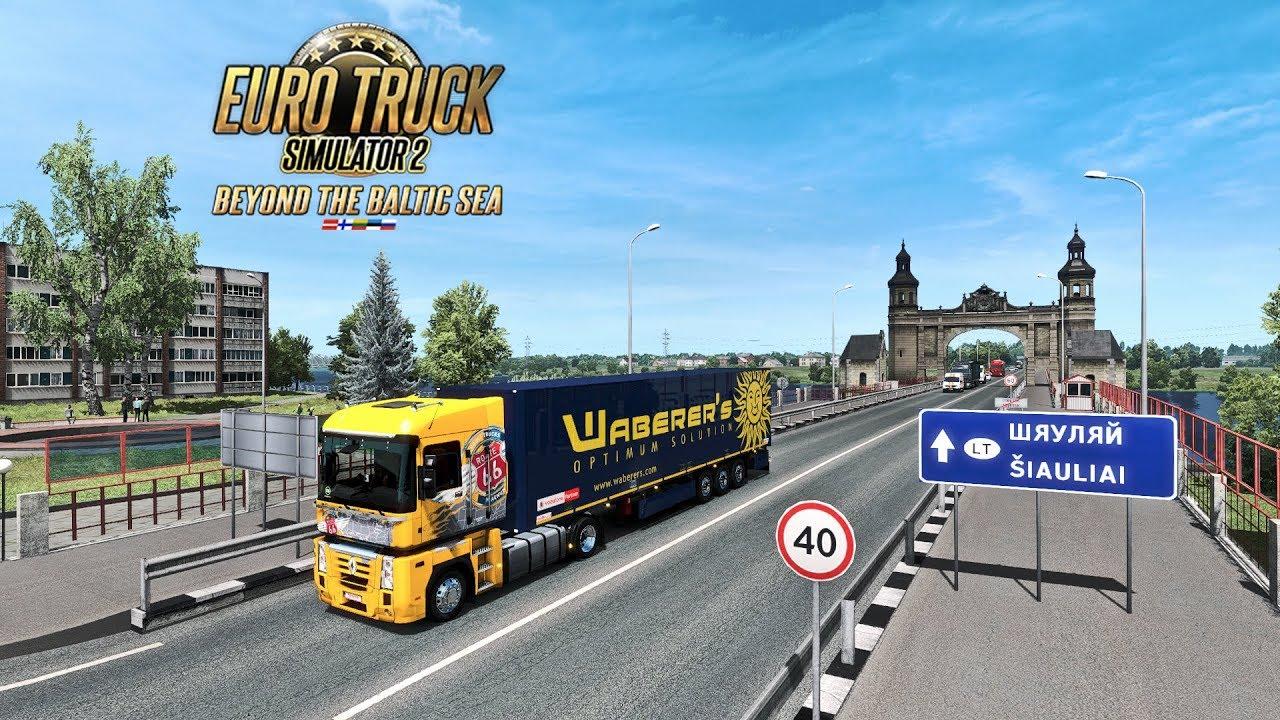 Euro Truck Simulator 2 Beyond The Baltic Sea Kaliningrad Ru To Kaunas Lt