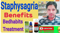 STAPHYSAGRIA HOMEOPATHIC MEDICINE ! symptoms and uses