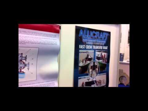 Alucraft Boat Builders at Asian Work Boat  Suntec Singapore SOMA Maritime Industry