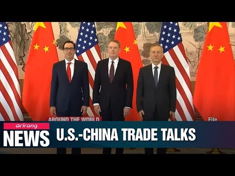"""U.S.-China trade talks begin after Trump received """"beautiful"""" letter from China's Xi"""