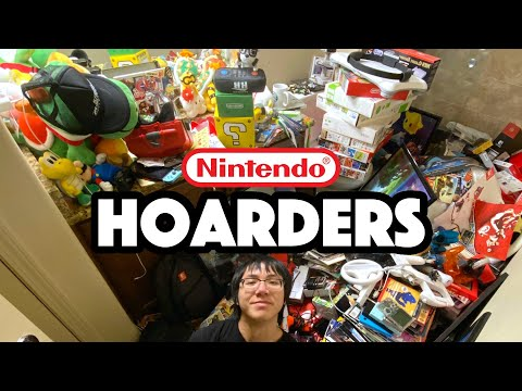 HOW MUCH NINTENDO STUFF DO I HAVE?