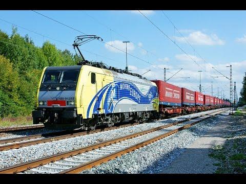 Führerstandsmitfahrt KBS 951 München - Salzburg in HD 60fps