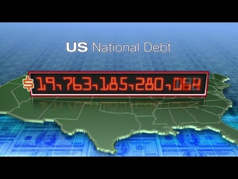 National debt getting bigger by the day