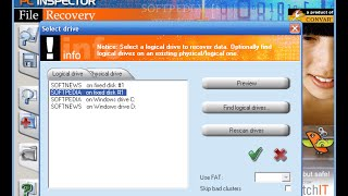 how to use Pc inspector file recovery software