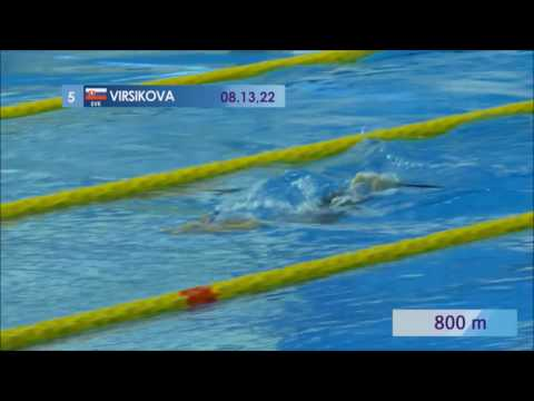 Slovak Finswimming - TOMSK 2017 - 1500m women