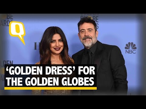 Thumbnail: The Quint| Priyanka Chopra brings 'the Gold' to the Golden Globes