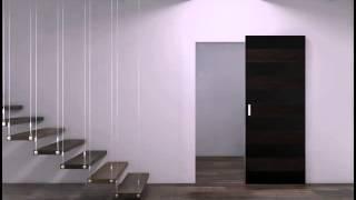 Profil Doors Ghost(Система открывания Ghost – cкользящая вдоль стены дверь. Все механические детали системы спрятаны в дверном..., 2016-03-24T07:15:23.000Z)