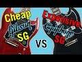 Cheap Gibson SG vs Expensive Epiphone SG Tone Comparison