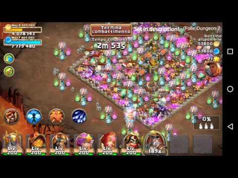 Castle Clash - Insane Dungeon 7 - 3
