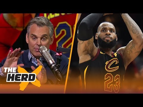 Colin Cowherd's message for LeBron 'Let stars come to you.' | THE HERD