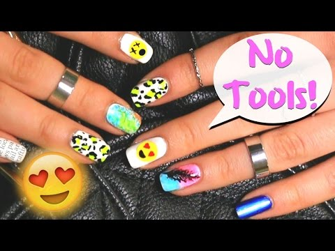 No Tools Needed Easy Nail Art Designs For Beginners