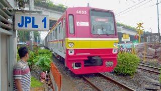 vuclip TERBAIK!! Kompilasi Perlintasan Kereta Api Krl (Edisi 13) ~ Railway Crossing Indonesia