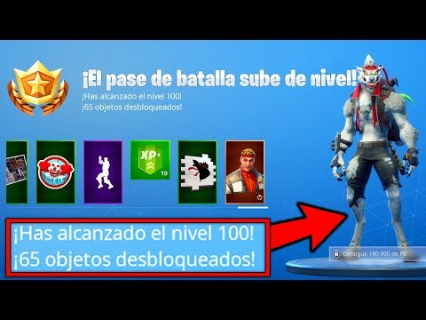 🔥 *TEMPORADA 6 NIVEL 100* DESBLOQUEO NUEVA TEMPORADA FORTNITE (HOMBRE LOBO)| FORTNITE BATTLE ROYALE