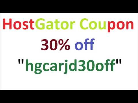 HostGator Coupon Code 2015 - Latest Offers