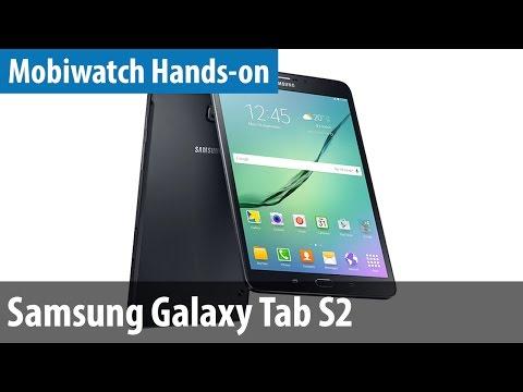 Samsung Galaxy Tab S2 - Hands-on & Vergleich mit Tab S | mobiwatch | deutsch / german
