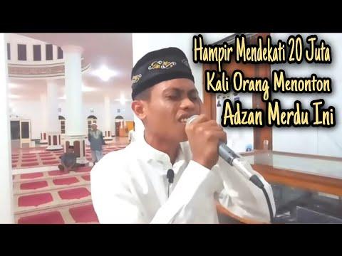 Adzan termerdu di indonesia