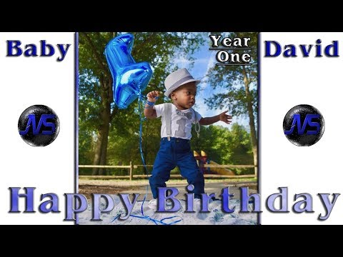 HAPPY BIRTHDAY Baby DAVID!! (1 Year) (Tribute Video) (VIDEO 1 From IPhone PICTURES)