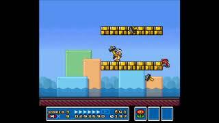 Super Mario All-Stars: Super Mario Bros. 3 Small Mario TAS WIP Ver.1