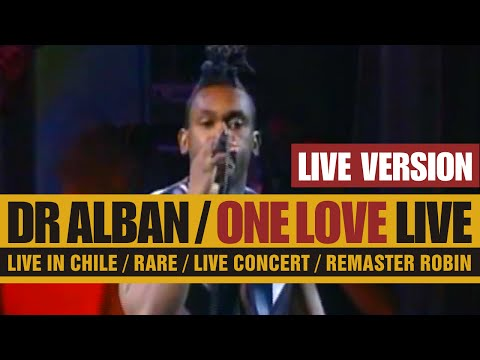 Dr Alban - One Love (LIVE 1993) HD / RARE!