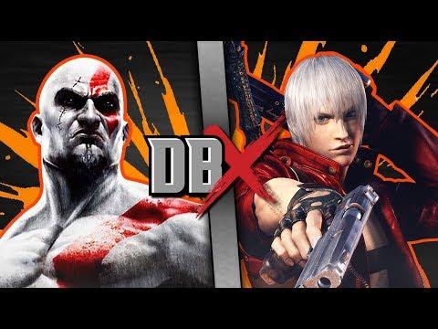 Kratos VS Dante (God of War VS Devil May Cry) | DBX