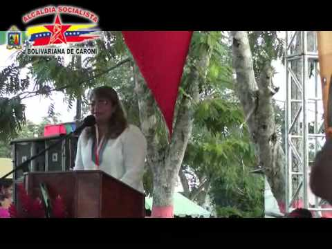 Gobierno Revolucionario celebro los 165 Aniversario de la Ciudad de tucupita